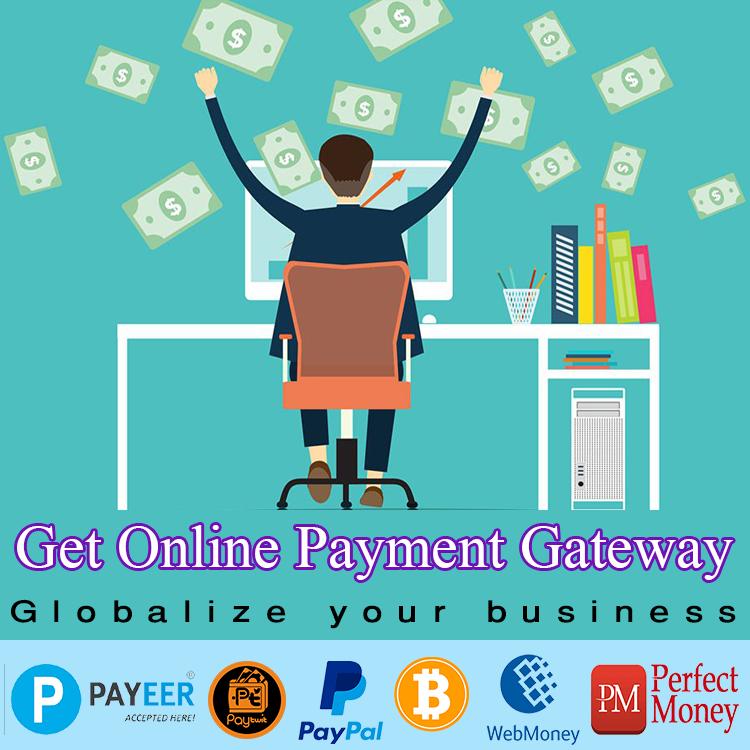 Get Online Payment Gateway - Merchant Account